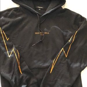 Sweaters - SHADOW HILL LIGHTNING BOLT HOODIE
